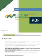 Noor Capital Market Contract Specification (1) En