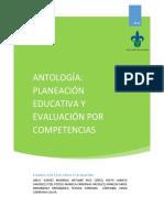 ANTOLOGÍA_ Planeación y Evaluación Educativa- Enfoque Por Competencias