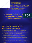 Kuliah 11. Bedah Orthopaedi - Traumatologi