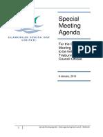 Glamorgan Spring Bay council meeting
