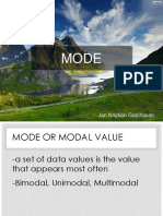 Mode Ppt