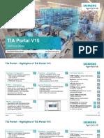 Technical Slides TIA Portal V15 En