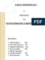 Consumer Buying Behavior in Shoppingmall-090404033135-Phpapp01