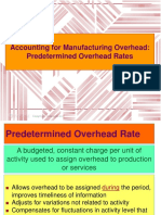 Acctg for Overhead