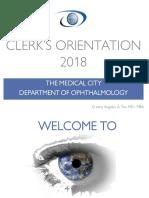 Clerks Orientation 2018