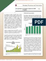 El Sector Petrolero en el Primer Semestre de 2010