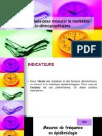 Stage Epidemiologie Fr Indicateurs de Mortalité d'Après Le Système Européen.