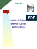 Climat Et RE Au Maroc
