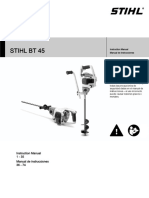 STIHL BT 45 Owners Instruction Manual