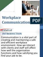 7 Workplace Communication