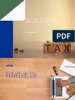Tax Card 2017