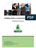 Building Positive Communication Skills