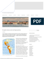 El Español, Idioma Común de Hispanoamérica Hispanoamérica Unida