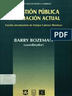 BARRY BOZEMAN_LA GESTION PUBLICA SU SITUACION ACTUAL.pdf