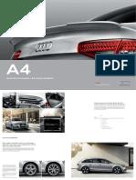 Audi a4 Original Zubehoer Katalog 6 2014 PDF