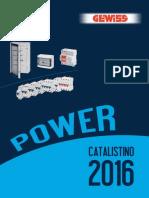 Catalog Gewiss_Power IT 2016