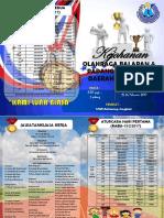 Buku Program Kejohanan Olahraga 2017