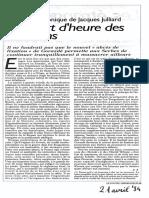 1994 Le Quart d'Heure Des Assassins_Nouvel Obs