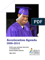 Acceleration Agenda