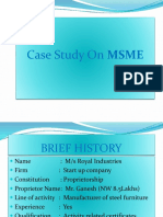 MSME case 4