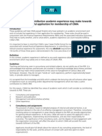 Academic Guidelines Practical Experience 04