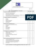 QCM Franck Mathot - Competitive Intelligence 30 Min 2013