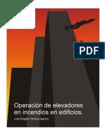 Operacion de elevadores en incendios