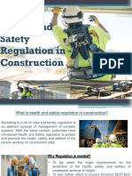 Health and Safety Regulation in Construction