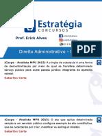 Erick Alves - Direito Administrativo MPU