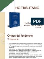 TRIBUTARIO I Inicio de La Teoría General Al Año 2017