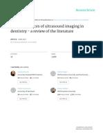 Marotti Et Al 2013 - Recent Advances of Ultrasound Imaging in Dentistry e a Review