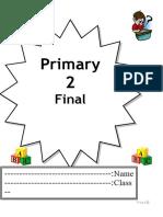 Family and Friends Primary 2 - Exam-eg.com