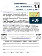 Glos Championships and Megafinal Qualifier 2018 Entry Form