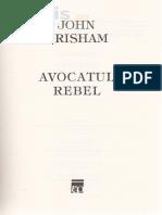 John Grisham - Avocatul Rebel