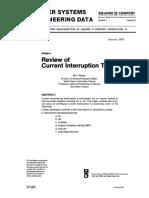 Current Interruption Techniques2356