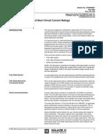 Switch Panel Borad Short Circuit Current Ratings2700db9901