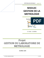 Gestion Metrologie 2015 2016