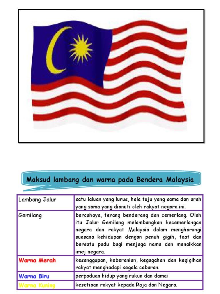 Paling Laju Warna Biru Pada Bendera Malaysia Membawa Maksud Apa