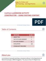 Flipped-class-room Activity Constructor Archana k