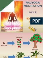 Rajyoga Meditation Day 2