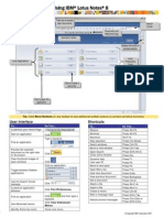 Lotus Notes Reference Card