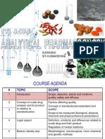 01. Introduction Analitical Pharmacognosy