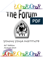 The Forum 81st Edition August 2014