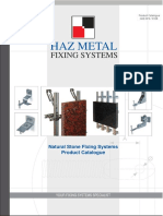 Haz Metal Natural Stone Fixings Catalog 03.2008ver1