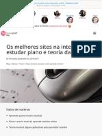 Piano & Teoria Musical Como Aprender Online Superprof