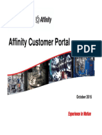 Affinity Customer Portal Training