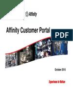 Affinity Customer Portal Training
