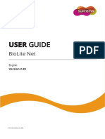 Biolite Net User Guide