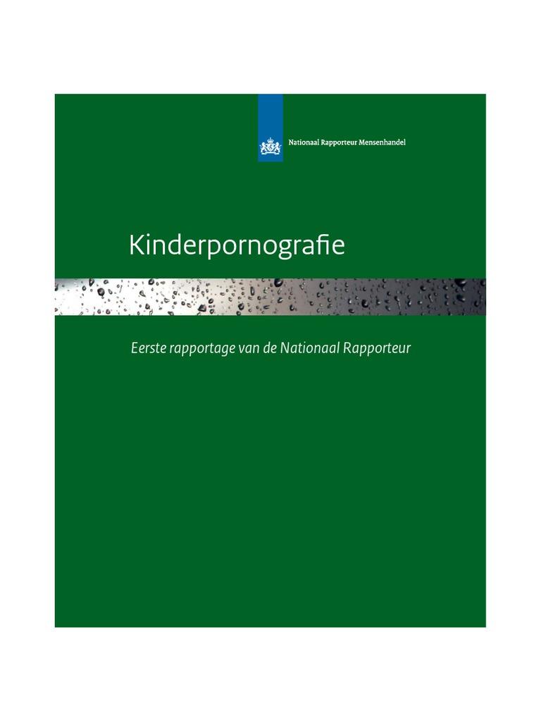 Eerste rapportage Kinderpornografie van de Nationaal Rapporteur