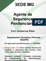 Sgc Seds Mg 2014 Agente de Seguranca Redipri 01 a 04